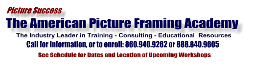The picture framing industry's largest school